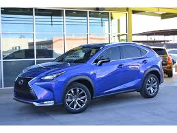 lexus nx blue 2015 lexus nx 200t for sale in tempe az used lexus sales