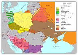 Indo European Language Map by Language