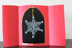 paper fantasees the craft blog star pop u2013up christmas card book