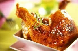 poulet cuisine cuisse de poulet glacé au miel