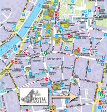 City Map City Map Of Innsbruck A Holiday In A Central Hotel