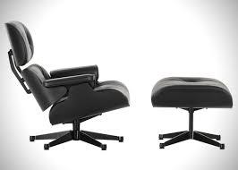 Lounge Chair Ottoman Eames Black Ash Lounge Chair Ottoman By Vitra Hiconsumption