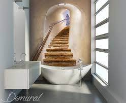 A blissful mirage  Bathroom wallpaper mural  Photo wallpapers