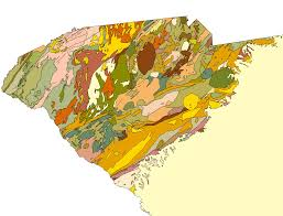 South Carolina County Map Preliminary Digital Geologic Map Of The Appalachian Piedmont And