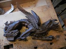 wood carving repair on antique furniture