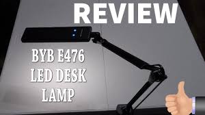 byb e476 review metal architect swing arm led desk lamp youtube