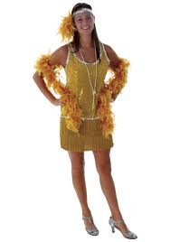 gold sequin flapper dress flapper halloween costume
