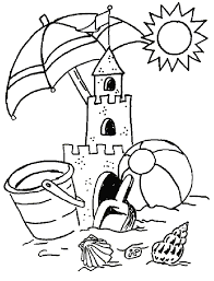 summer coloring pages coloring kids