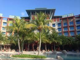 hotel michael resorts world sentosa singapore in swimming pool
