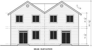 duplex house plans row house plans d 473