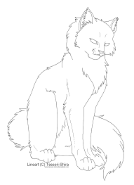 coloring pages warrior cats archives warrior cats