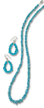 fashion necklace earring sets images Turquoise nugget necklace earring set jewelry sets jewlery jpg