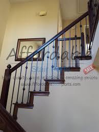Wrought Iron And Wood Banisters Balusters Concrete Balusters Vinyl Railing Kit With Square