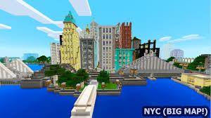 New York City Map For Minecraft by New York City Big Map For Mcpe Android Apps On Google Play