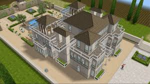 Chateau House Plans Simsfreeplay House Design French Chateau Youtube