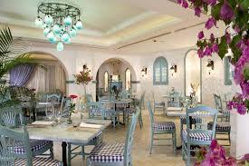 highly lovely beach resort mediterranean restaurant in white soft