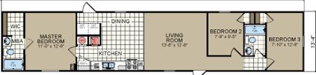 3 bedroom mobile home for sale oak creek 14x66 single wide manufactured home san antonio