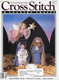 cross stitch u0026 country craft magazine vintage ormaments