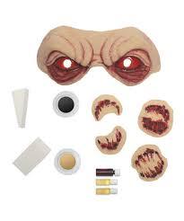 zombie makeup kit spirit halloween zombie infected makeup kit accessories u0026 makeup