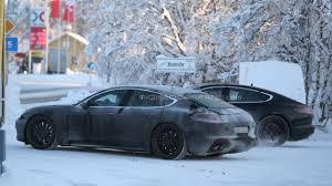 Porsche Panamera Next Gen - next gen porsche panamera spied inside and out getting less