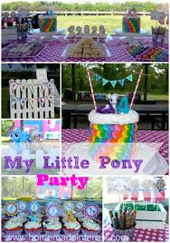 Birthday Decoration Ideas For Kids At Home Best 25 Little Pony Party Ideas On Pinterest My Little Pony