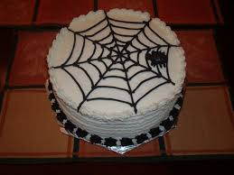Spider Halloween Cake by Halloween Spider Web Cake Cakecentral Com