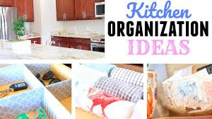 how to organize your kitchen myka stauffer youtube