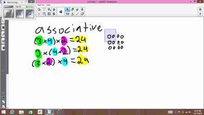 Identity Property Of Multiplication Worksheets Associative Property Of Multiplication Youtube