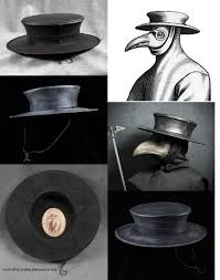 plague doctor hat plague doctor accessories tom banwell designs