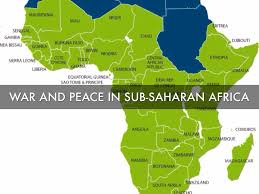 Sub Saharan Africa Map by War And Peace In Sub Saharan Africa By Laura Taylor