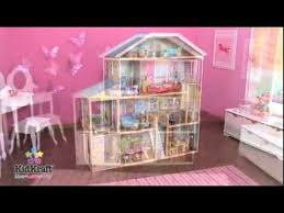 kidkraft majestic mansion dollhouse 65252 barbie doll compatible