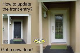 fiberglass front doors with glass saratoga front door glass insert in fiberglass front door