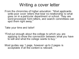 higher education cover letters best solutions of cover letter