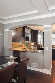 a kitchen island dining table opening between kitchen and living room kitchen island dining