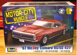 1967 camaro kit revell 1967 nickey camaro rs ss 427 sealed revell monogram
