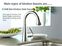types of kitchen faucets kitchen faucet connections lesmurs info