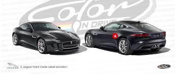 jaguar touch up paint find touch up color for jaguar color n drive