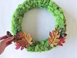 fresh fall decorating make a ribbon rose wreath hgtv