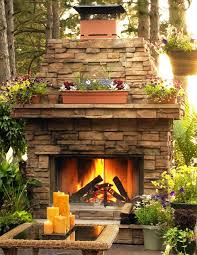Outdoor Fireplace Surround by 527 Best Backyard Fireplaces Firepits Ovens Images On Pinterest