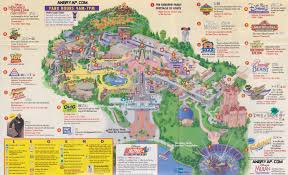 Map Of Disneyworld Disney Mgm Studios Map From December 1999 Southtracks