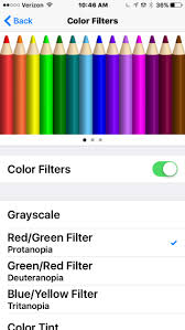 Blue Yellow Color Blind 4 New Accessibility Features Of Ios 10 You Should Know The