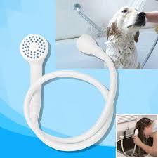 single tap pet bath shower spray hose connector rubber bathroom