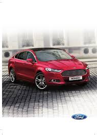 ford mondeo 2015 owners manual pdf