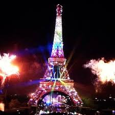 eiffel tower christmas lights france rainbow lights on eiffel tower for bastille day criticised