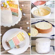 easter egg layered cake i heart nap time