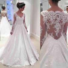 a line wedding dress discount 2017 satin a line wedding dresses appliqued lace with