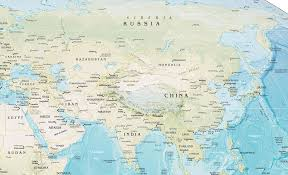 Map Of Eastern Asia by Geographical Map Of East Asia You Can See A Map Of Many Places