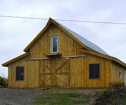 How To Build A Lean To On A Pole Barn A Post And Beam Barn Kit That You Can Build Yourself
