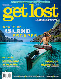 travel magazine images Sea kayaking in palawan philippines get lost magazine cover jpg