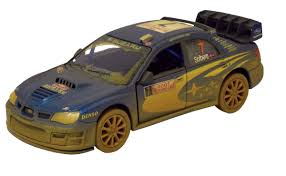 subaru wrc amazon com dirty subaru impreza wrc 1 36 scale 5 by kinsmart